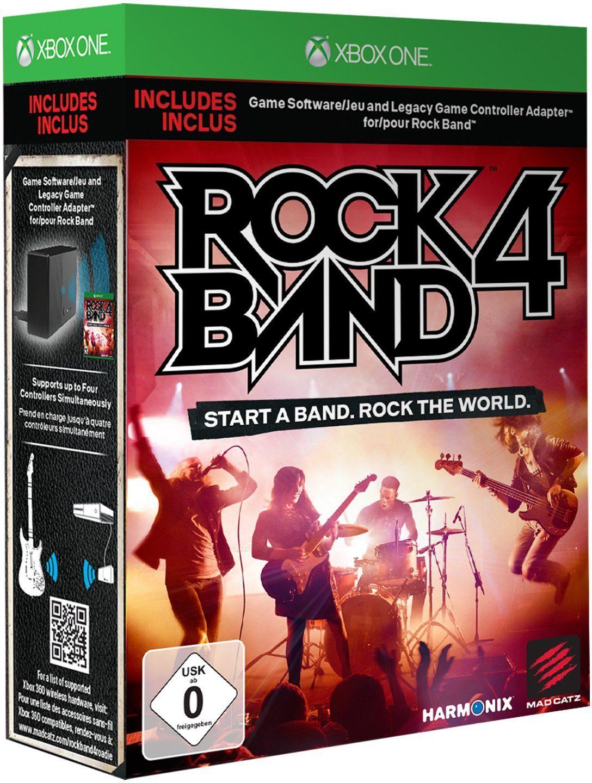 Mad Catz Rock Band 4 + Xone Adapter »(XBox One)«