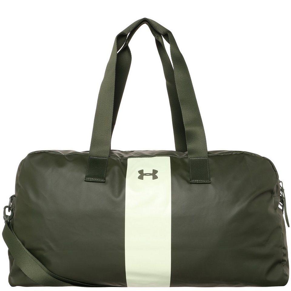 Under Armour Universal Sporttasche Damen in dunkelgrün / weiß