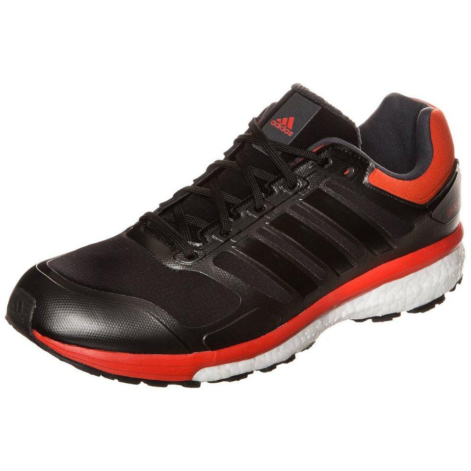 adidas Performance Supernova Glide Boost ClimaHeat Laufschuh Herren in schwarz / rot / weiß