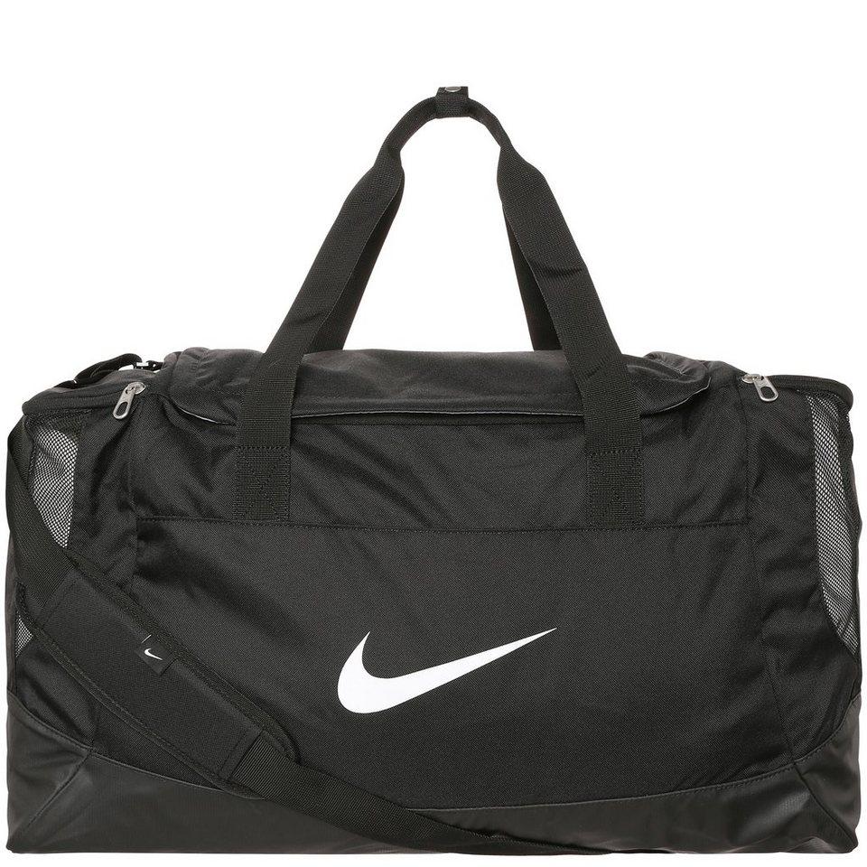 NIKE Club Team Swoosh Sporttasche Large in schwarz / weiß