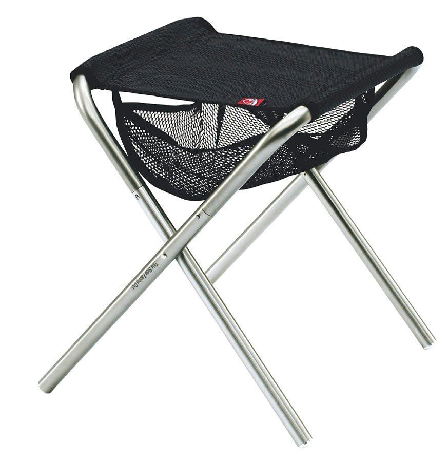Robens Camping-Stuhl »Explo** Stool« in schwarz