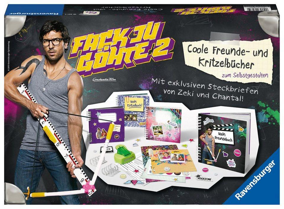 Ravensburger Kreativset, »Fack Ju Göhte 2 - Freunde- und Kritzelbücher«