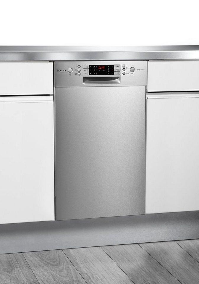 Bosch Unterbau-Geschirrspüler SPU65T75EU, Energieklasse A++, 8,5 Liter in Edelstahl