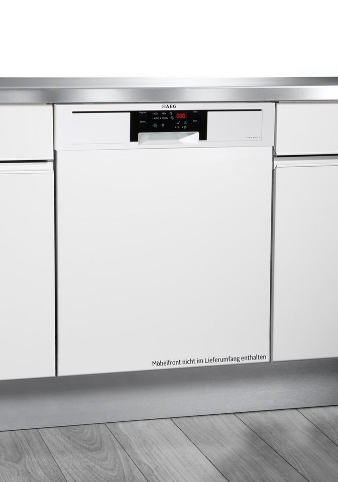 AEG integrierbarer Einbau-Geschirrspüler FAVORIT F56332IW0, Energieklasse A++, 13 Maßgedecke in weiß