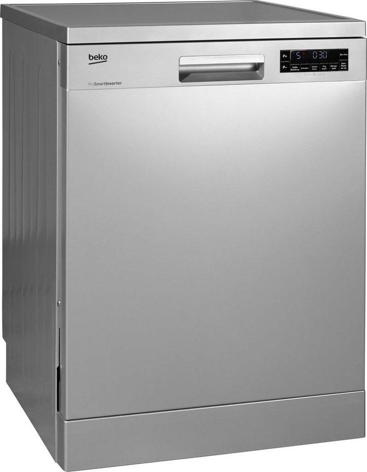 Beko Geschirrspüler DFN26220S, Energieklasse A++, 12 Maßgedecke in edelstahl