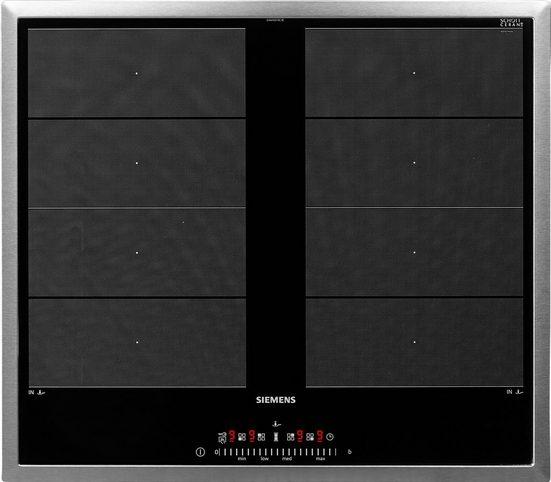 SIEMENS Flex-Induktions-Kochfeld von SCHOTT CERAN® iQ700 EX645FXC1E, mit Bratsensor Plus