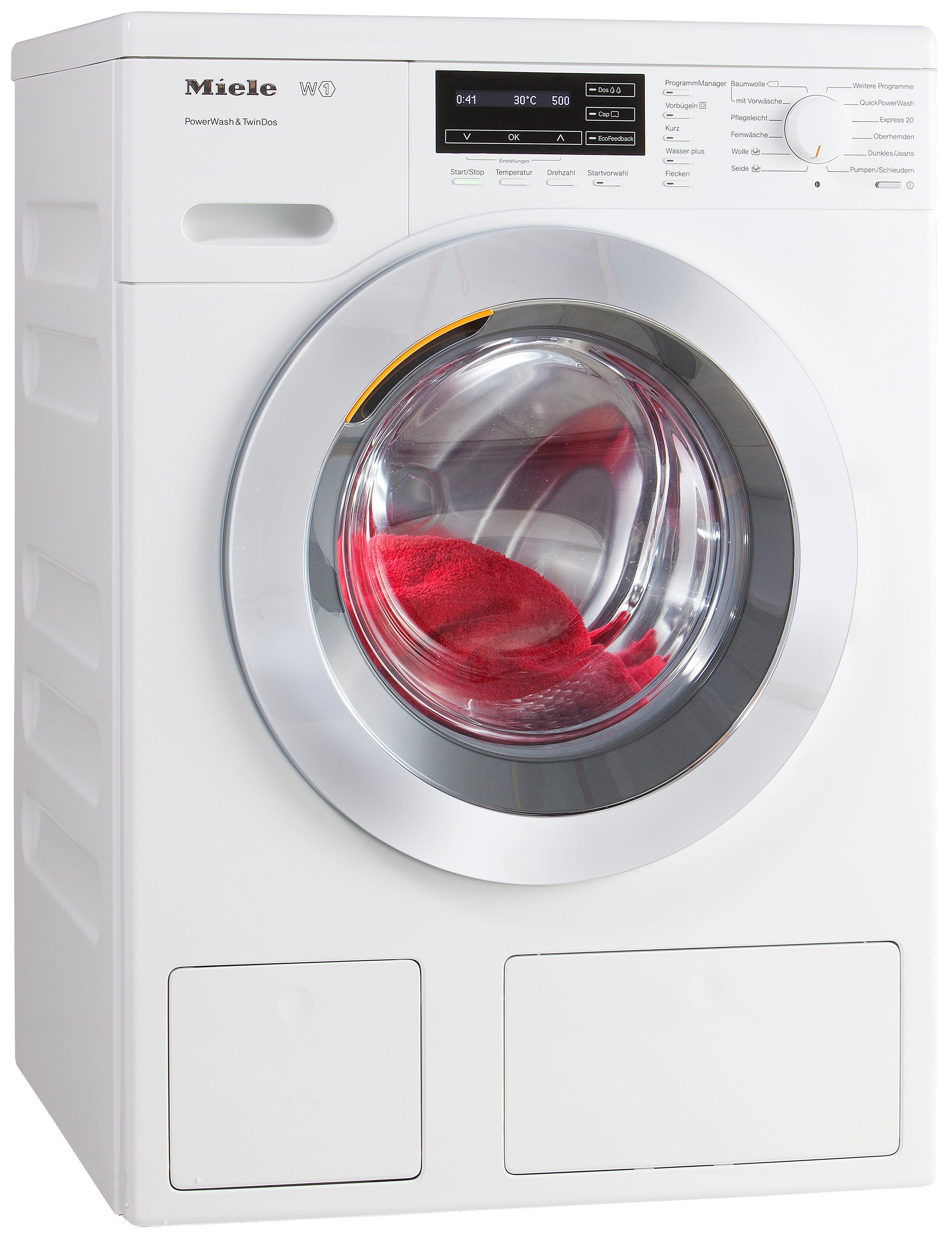 Miele Waschmaschine WKH 121 WPS, 8 kg, 1600 U/Min