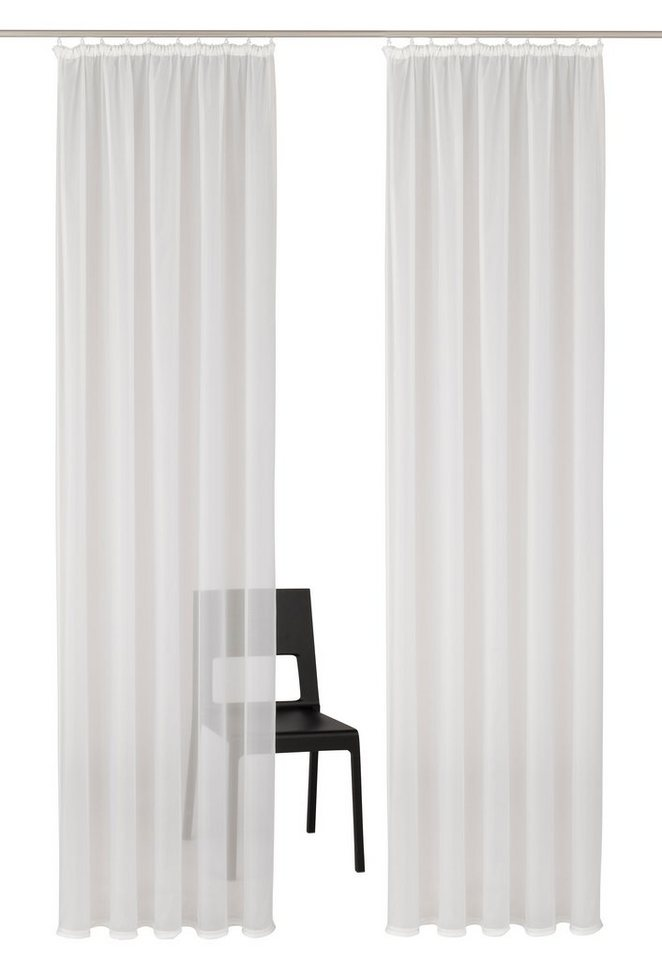 Gardine, My Home Selection, »Sellin« (2 Stück) in weiß
