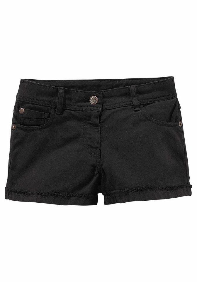 CFL Shorts, für Mädchen in Schwarz