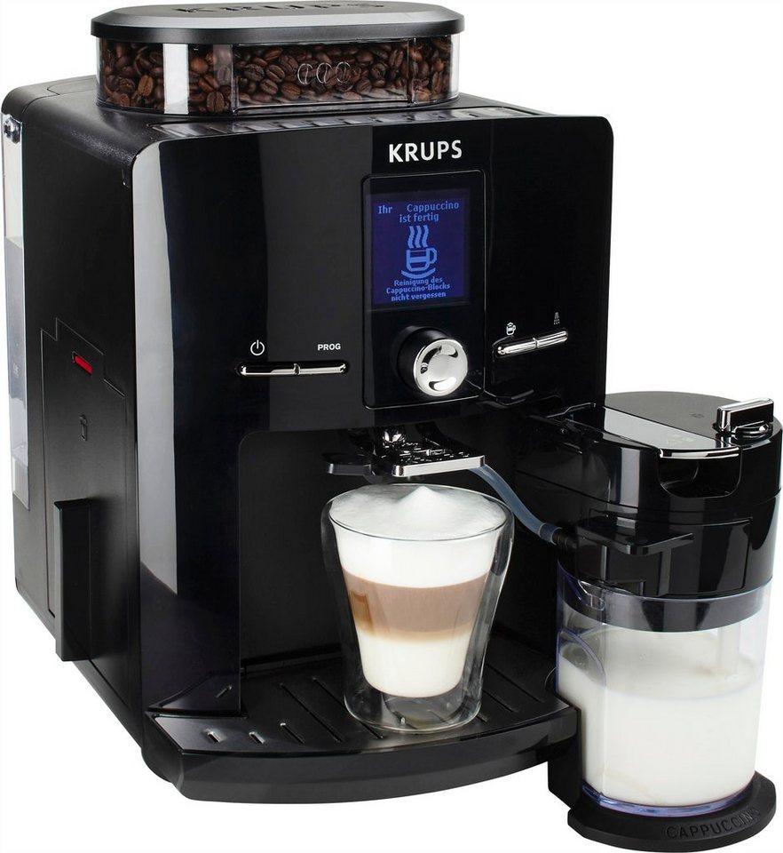 krups kaffeevollautomat ea8298 latt espress mit. Black Bedroom Furniture Sets. Home Design Ideas