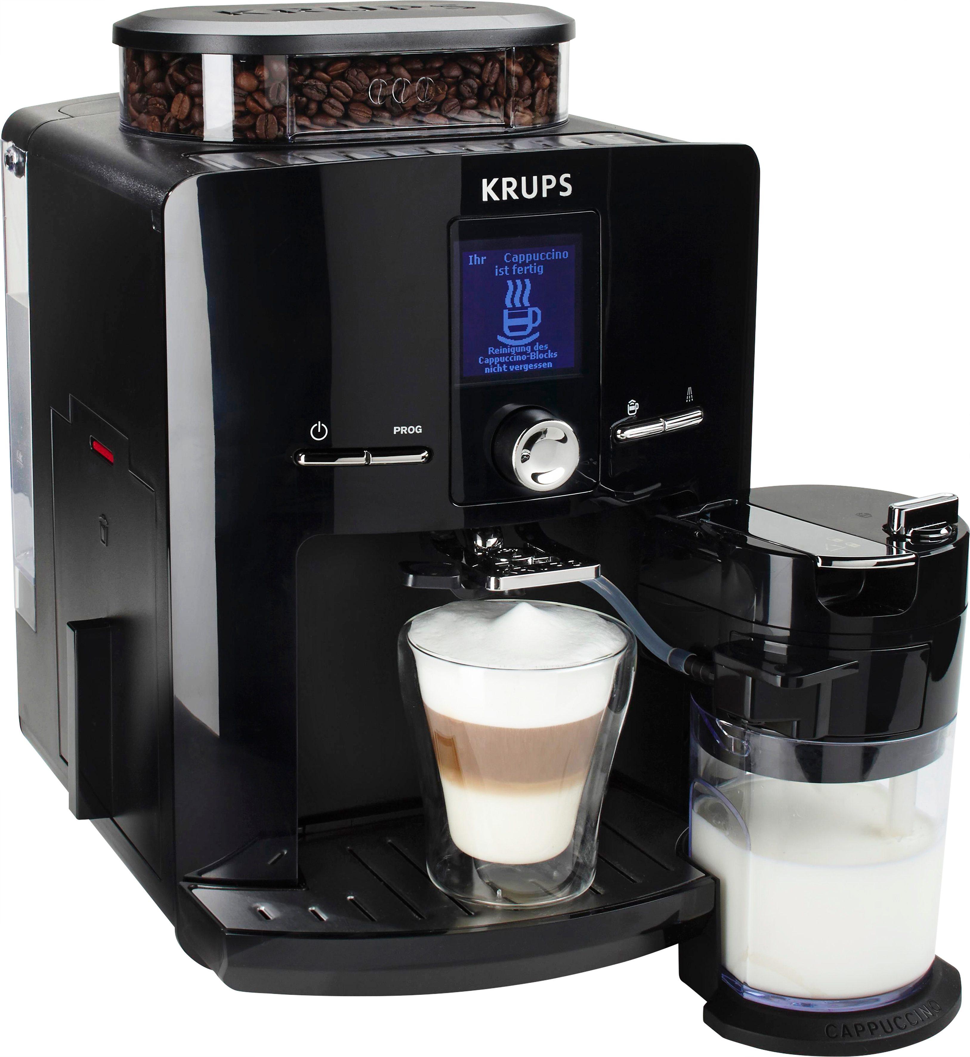 Krups Kaffeevollautomat EA8298 Latt´Espress, mit Kegelmahlwerk online kaufen | OTTO
