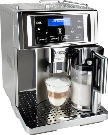De'Longhi Kaffeevollautomat PrimaDonna Avant ESAM 6750, mit No-Fingerprint-Beschichtung