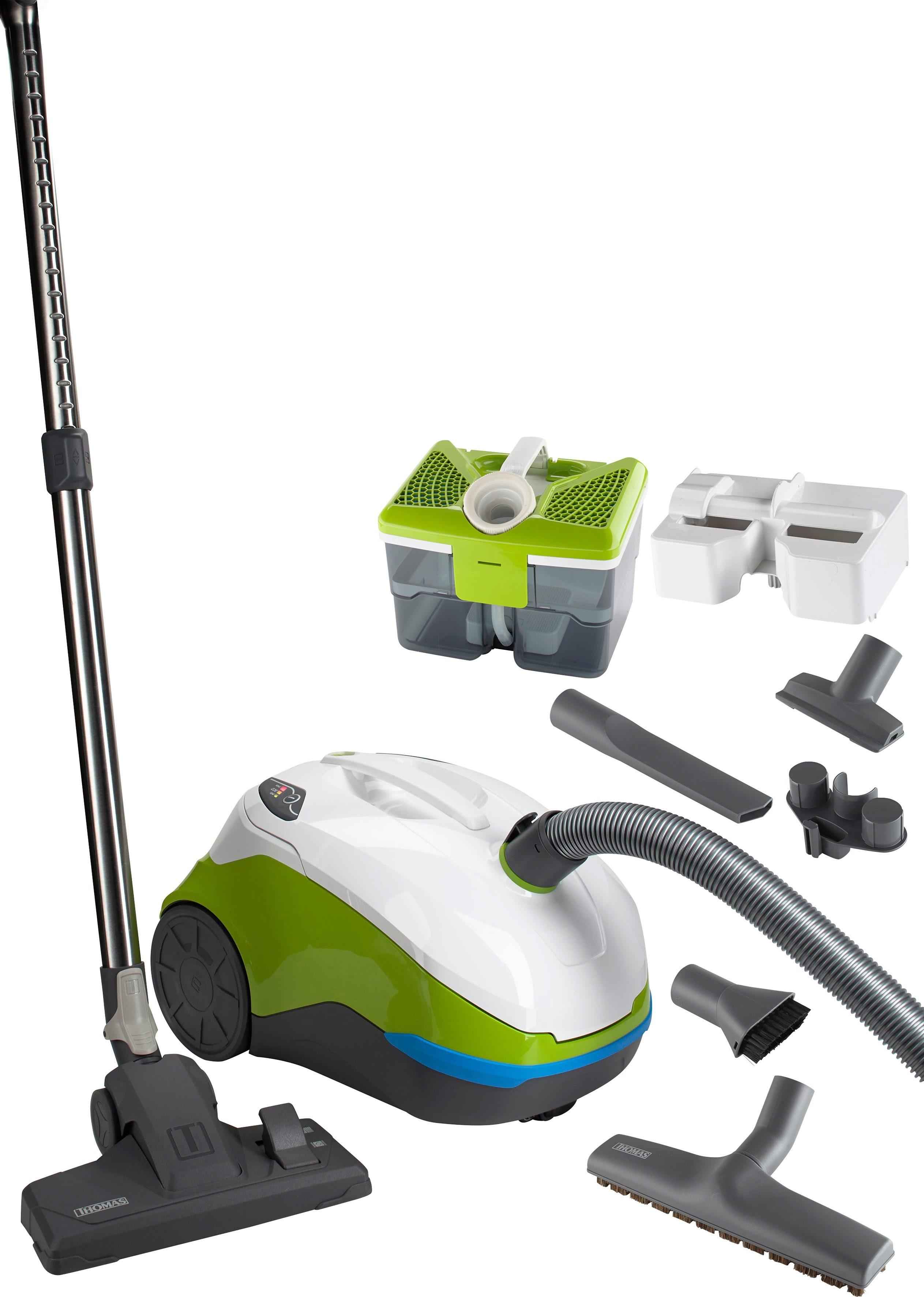 Thomas Staubsauger mit Wasserfilter perfect air feel fresh x3, grün/blau