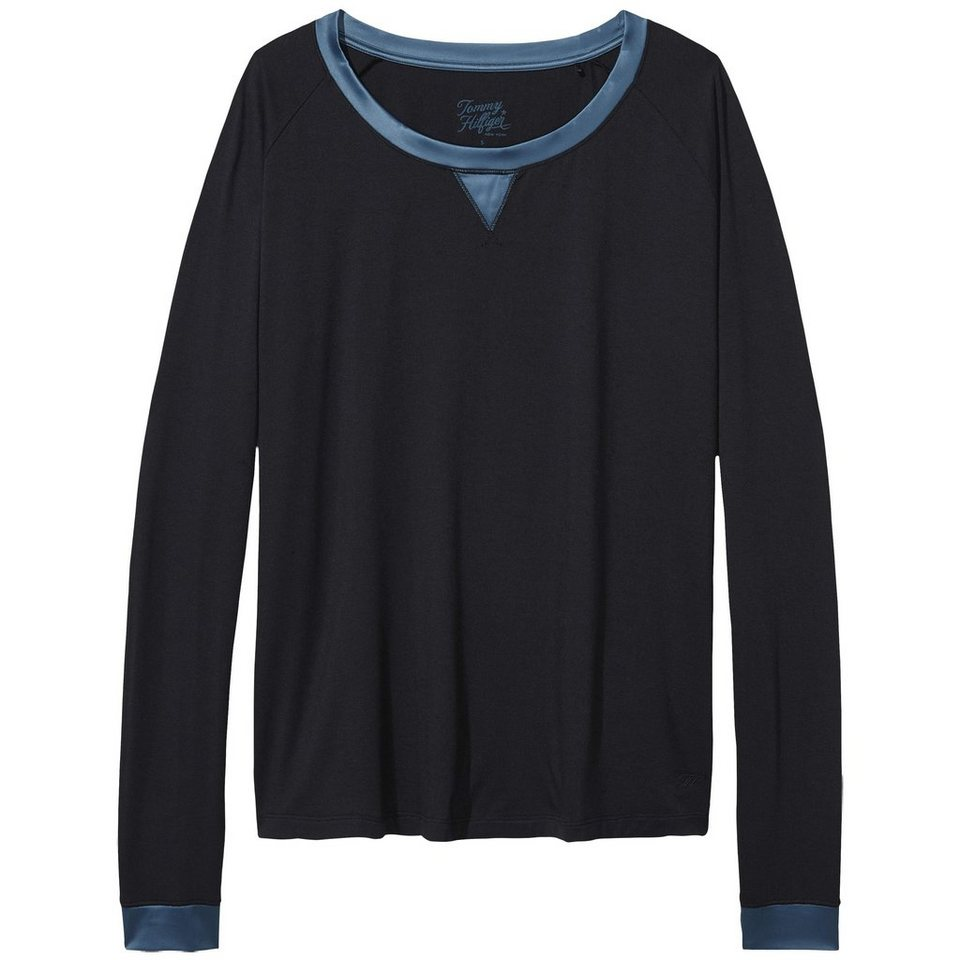 Tommy Hilfiger Homewear »Modal stretch fashion bn top ls« in TAP SHOE