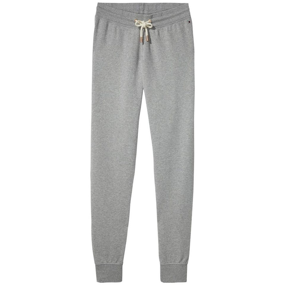 Tommy Hilfiger Homewear »Sammee shimmer track pant« in GREY HEATHER