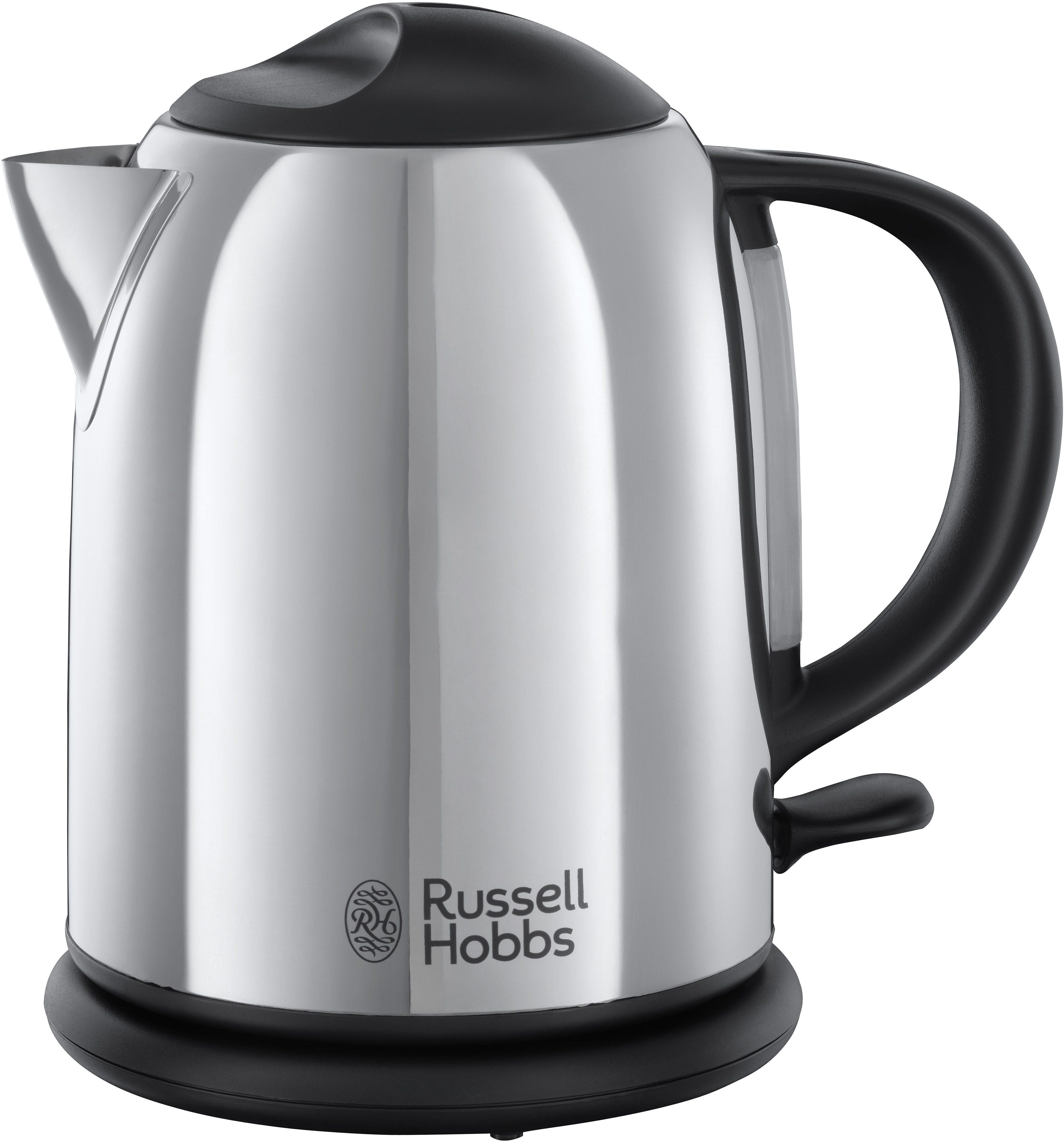 Russell Hobbs Kompakt-Wasserkocher Chester 20190-70, 1 Liter, 2200 Watt