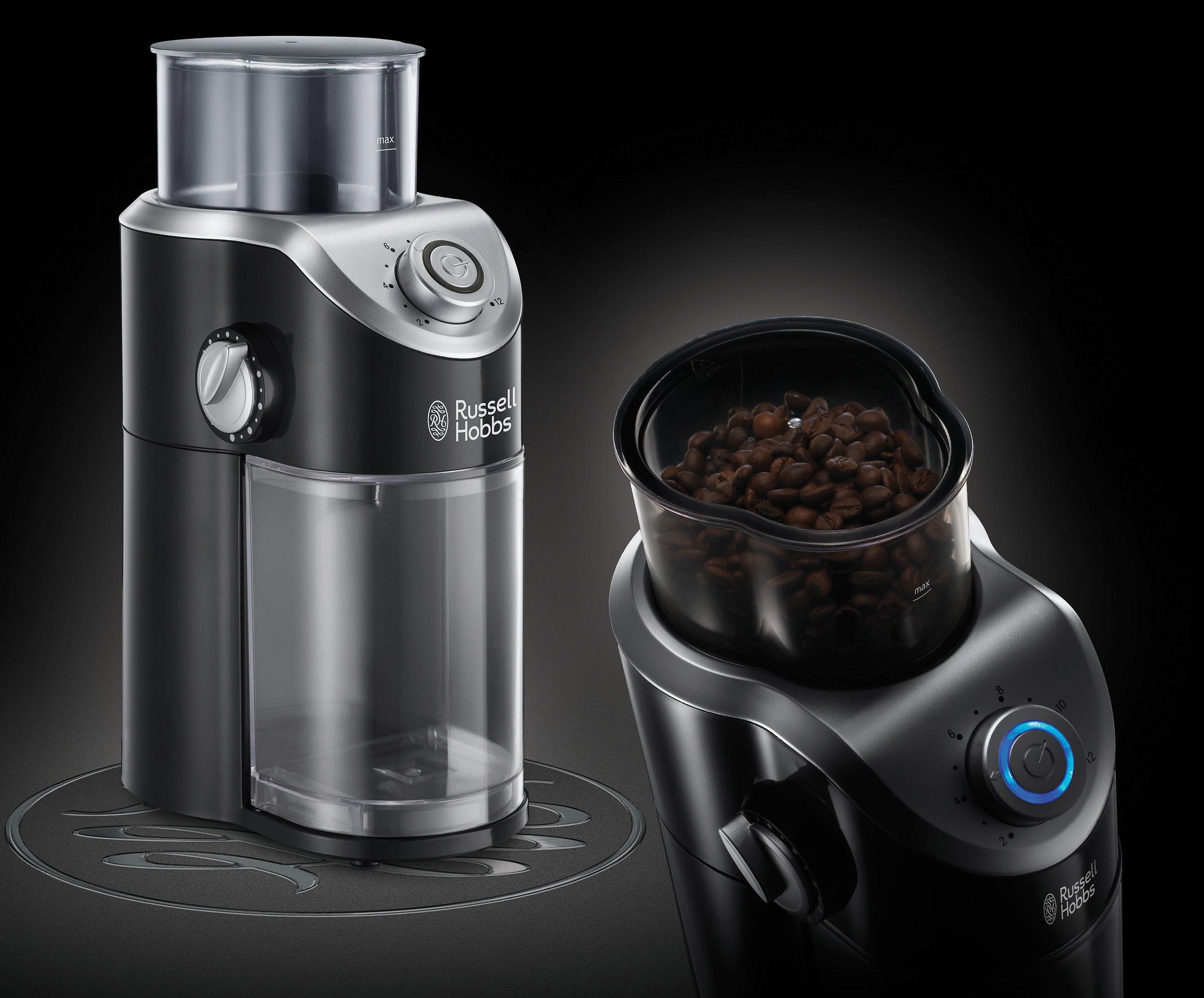 Russell Hobbs Kaffeemühle Classics 23120-56 mit hochwertigem Scheibenmahlwerk, 140 Watt