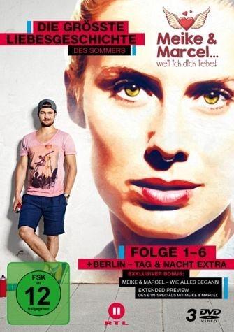 DVD »Meike & Marcel.. weil ich dich liebe - Folge...«