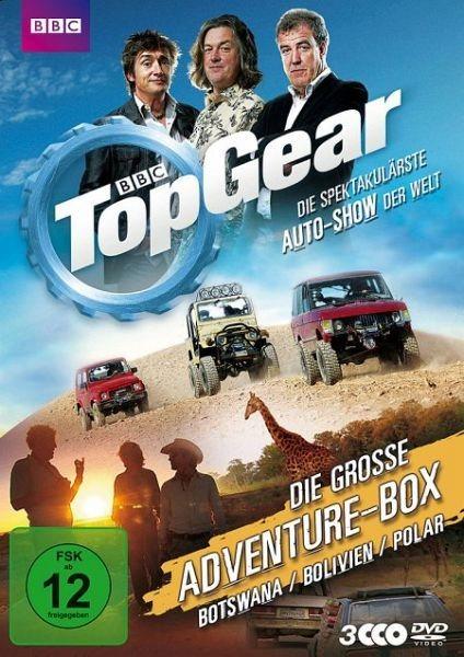 DVD »Top Gear - Die große Adventure-Box (3 Discs)«