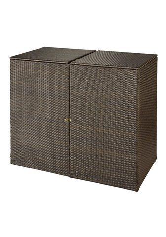 HANSE GARTENLAND Dėžė šiukšlių konteineriams dėl 2x120 ...