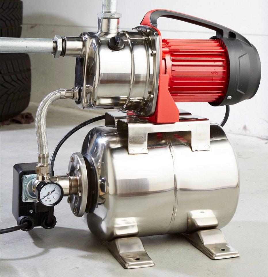 Hauswasserwerk »HWW 3008 InoxInox« in silberfarben