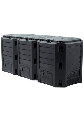 PROSPERPLAST Dėžė kompostui »Compothermo« BxTxH: 19...