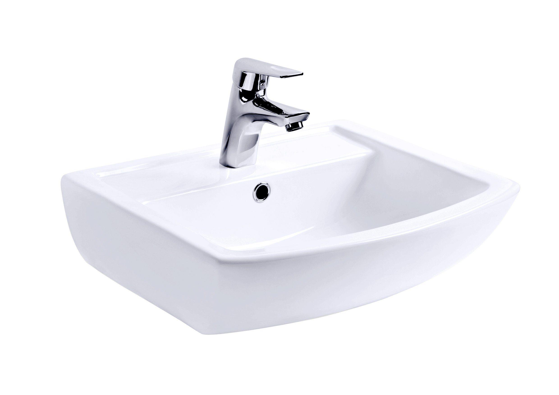 Keramik Waschtisch / Waschbecken »Legato«, Breite 50 cm