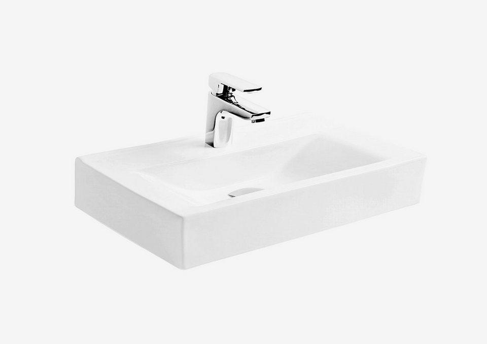 keramik waschtisch waschbecken ebro breite 45 cm online kaufen otto. Black Bedroom Furniture Sets. Home Design Ideas