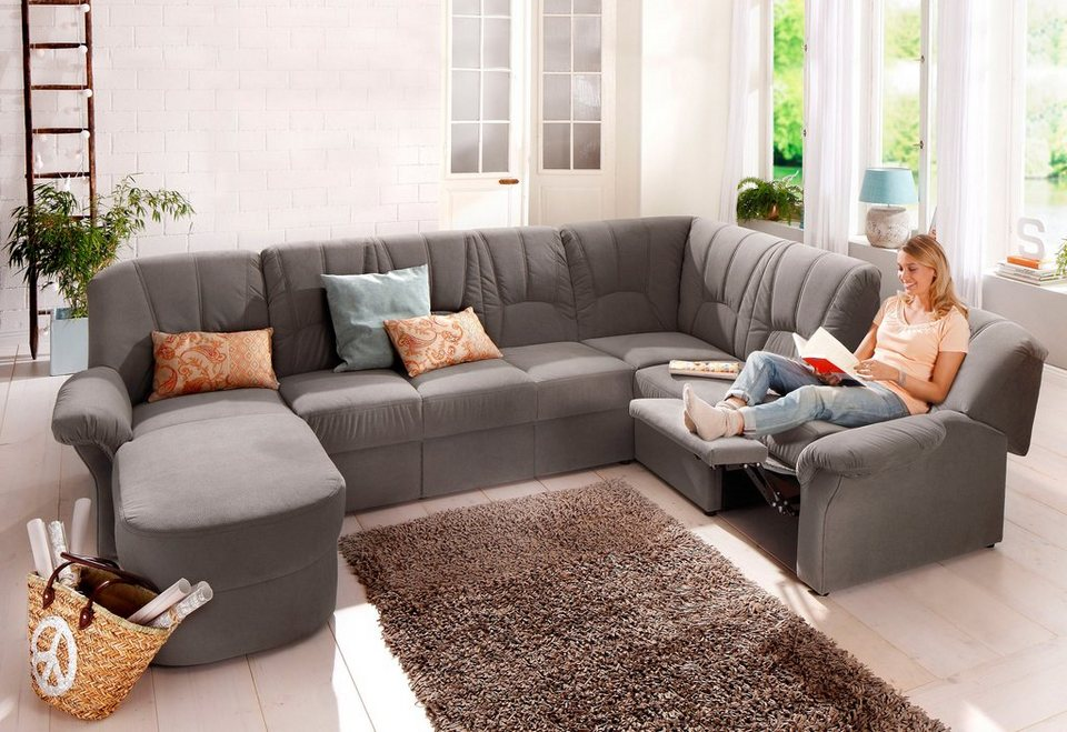 Home Affaire Wohnlandschaft Wesley Mit Relaxfunktion Wahlweise