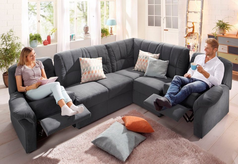Ecksofa dunkelgrau finest trendy melrose with ecksofa mit for Ecksofa dunkelgrau