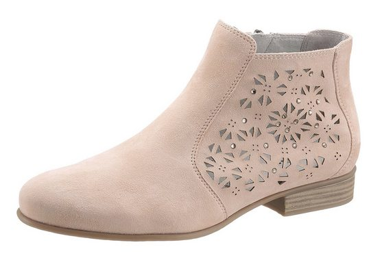 Tamaris Ankle Boot, With Beautiful Laser-cut