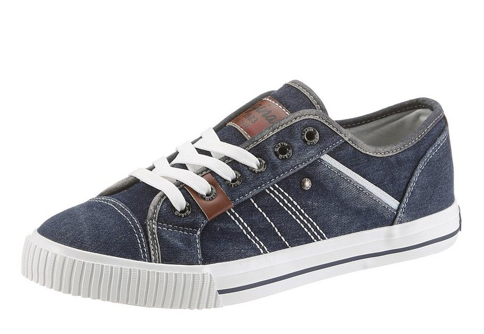 H.I.S Sneaker mit heller Laufsohle in navy used