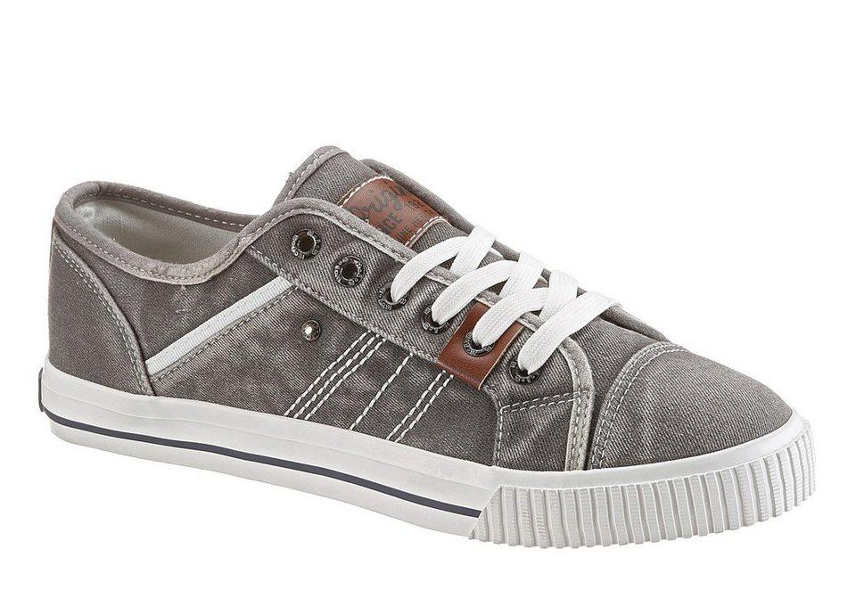 H.I.S Sneaker mit heller Laufsohle in grau used
