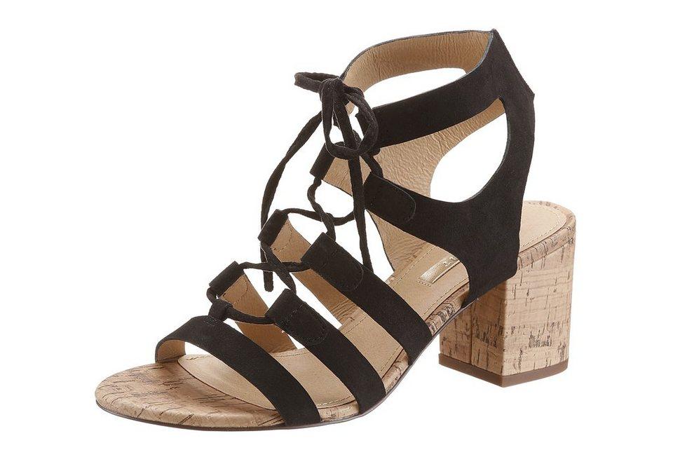 Esprit Sandalette im Seventies-Style in schwarz