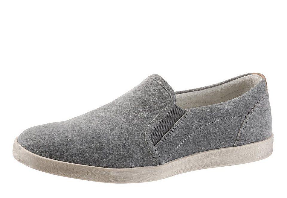 Petrolio Sneaker zum Schlupfen in grau