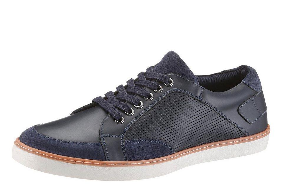 Petrolio Sneaker mit gepolsterter Sohle in dunkelblau