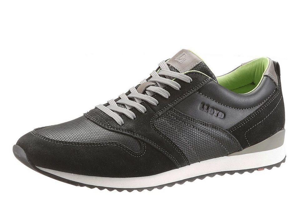 LLOYD Sneaker »Egilio« mit herausnehmbarer Sohle in schwarz