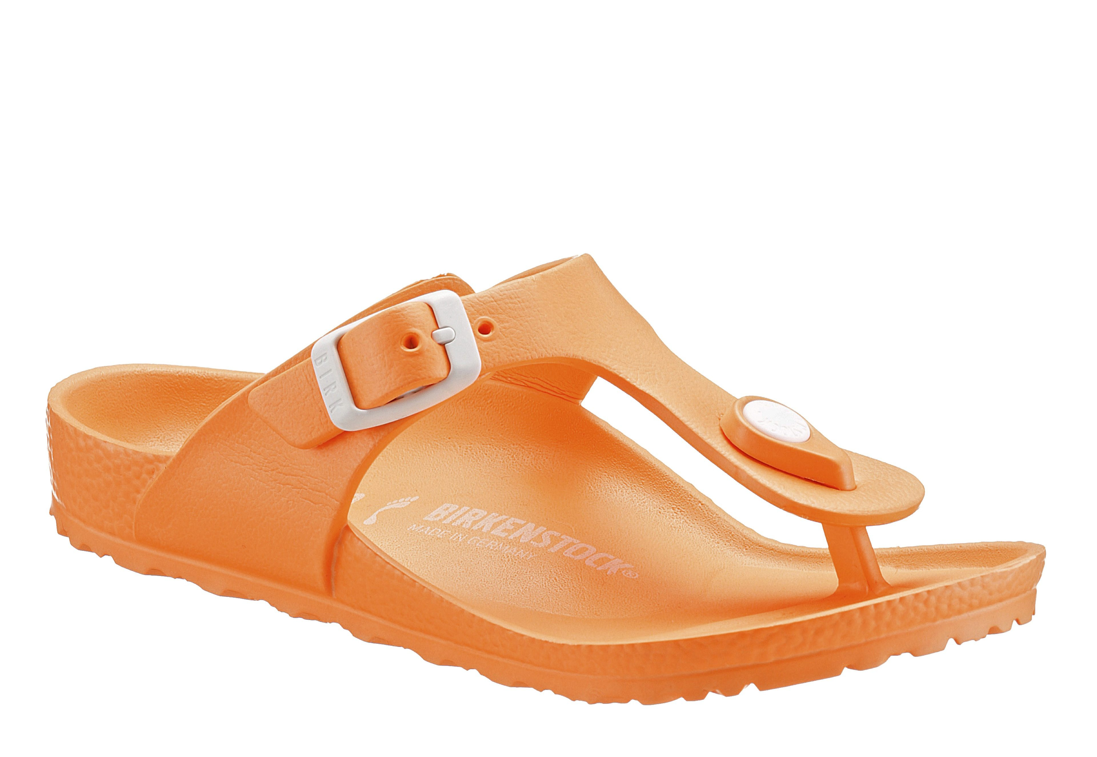 Birkenstock GIZEH EVA Zehentrenner, in schlichtem Look online kaufen  orange