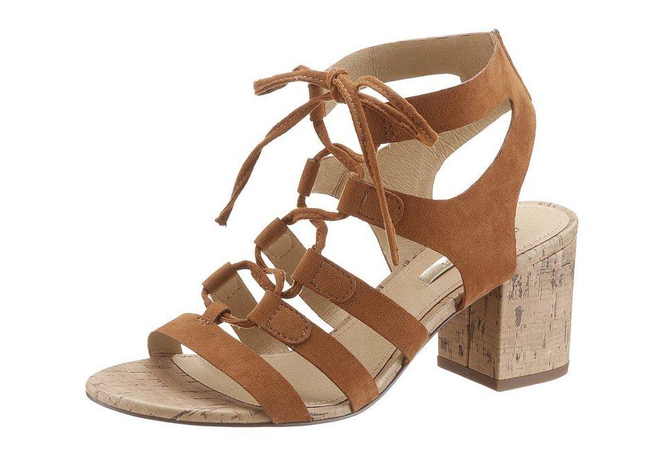 Esprit Sandalette im Seventies-Style in braun