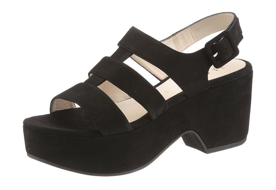 Unisa Sandalette in schwarz