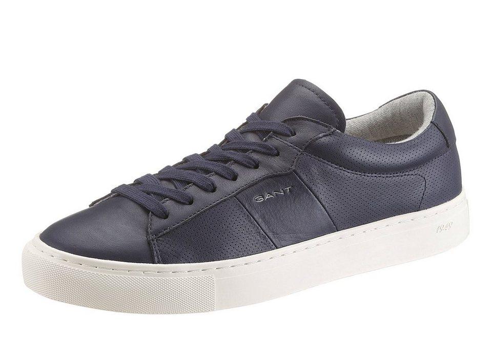 GANT Sneaker teilweise perforiert in dunkelblau