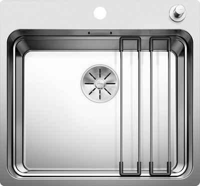 Blanco Küchenspüle »ETAGON 500-IF/A«, rechteckig, inklusive zwei ETAGON-Schienen
