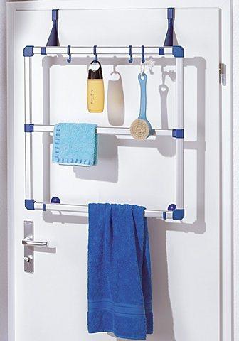 Handtuchhalter in blau