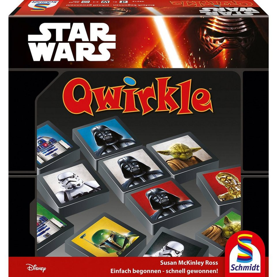 schmidt spiele star wars qwirkle online kaufen otto. Black Bedroom Furniture Sets. Home Design Ideas