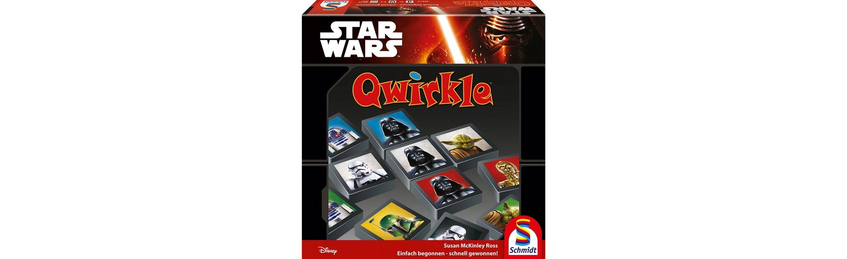 Schmidt Spiele Star Wars Qwirkle