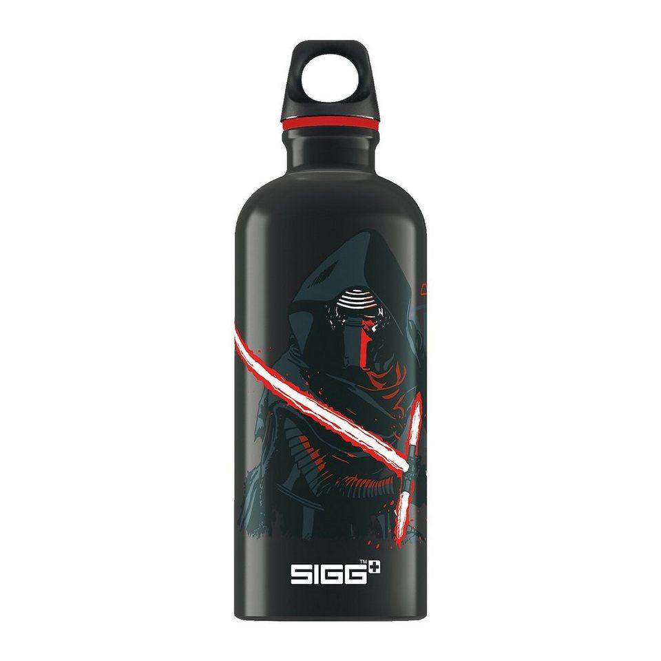 SIGG Alu-Trinkflasche Star Wars, 600 ml in schwarz