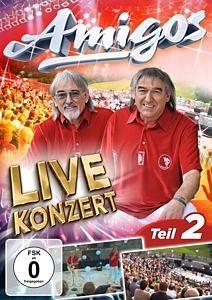 DVD »AMIGOS - Live Konzert - Teil2«