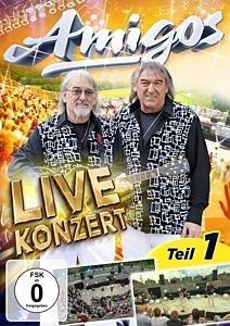 DVD »AMIGOS - Live Konzert - Teil1«