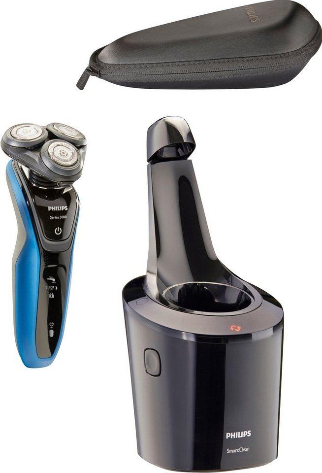 Philips Rasierer Series 5000 S5150/63, inklusive Präzisionstrimmer und Reinigungsstation