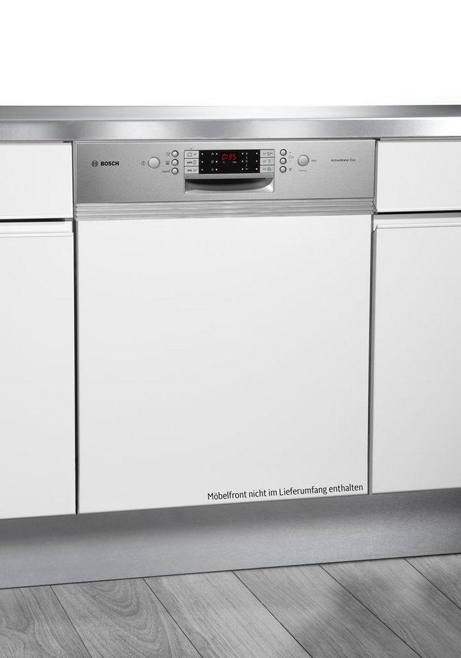 Bosch integrierbarer Einbaugeschirrspüler SMI69P25EU, A++, 6,5 Liter, 13 Maßgedecke in weiß
